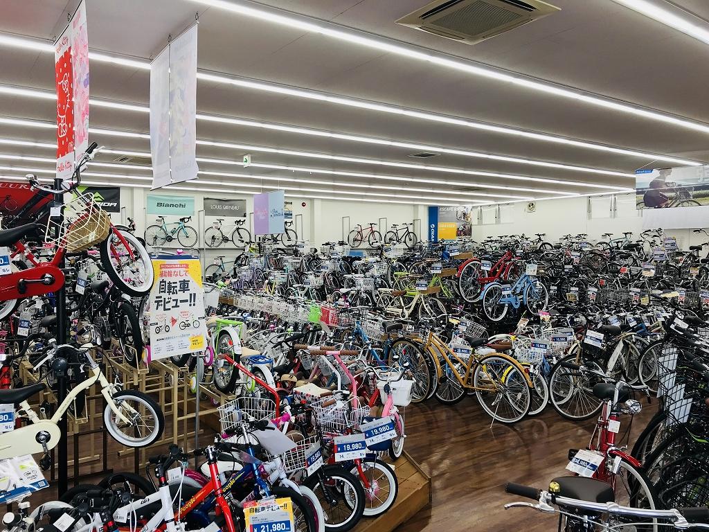 北松戸 あさひ自転車