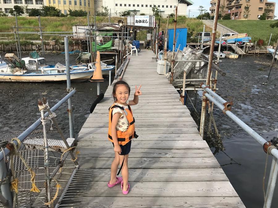 ハゼ釣り たかはし遊船 桟橋釣り